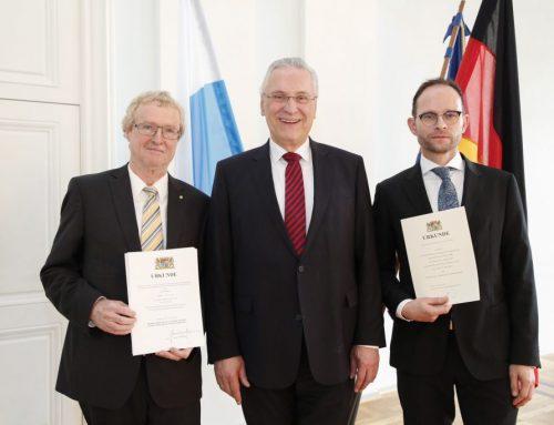 Verabschiedung des Präsidenten des BayLDA, Herrn Thomas Kranig und Amtseinführung seines Nachfolgers, Herrn Michael Will